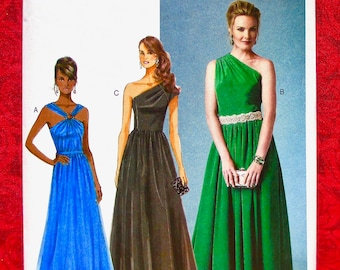 f9e4c9a33ac Butterick Sewing Pattern B5987 Evening Gowns
