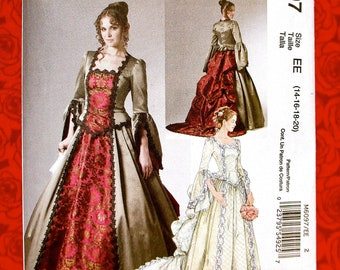 b623d8c3296 McCall s Costume Sewing Pattern M6097 Ball Gown