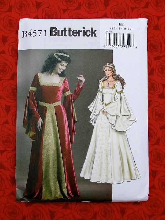 Butterick Making History Pattern Costume CHOICE Renaissance Edwardian Madrigal