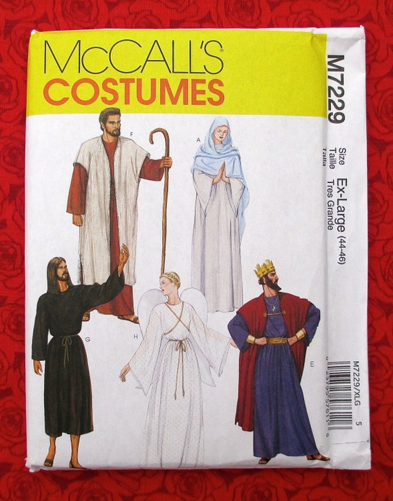 McCall\'s Costume Sewing Pattern M7229 Nativity Scene | Etsy