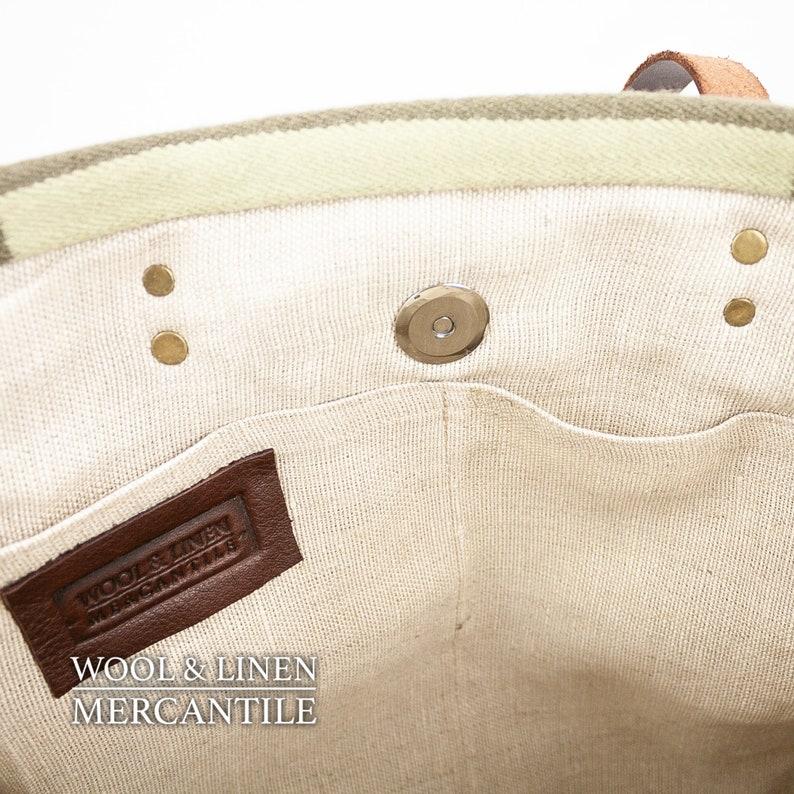 Bag made with Pendleton Wool Weekender Pendleton and Leather,NEW! Pendeltons Harding Blanket IN STOCK ! Portland Wool