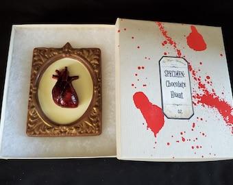 Edible Organ Chocolate: Heart
