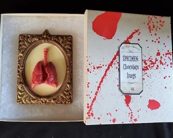 Edible Organ Chocolate: Lungs