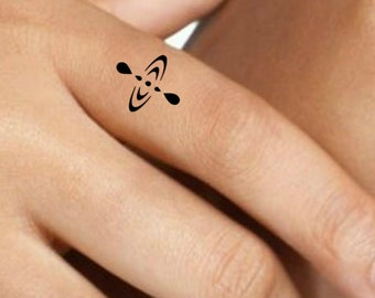 fc4249c07ad67 Live In The Moment Temporary Tattoo 6 Inspirational Symbol Tattoos
