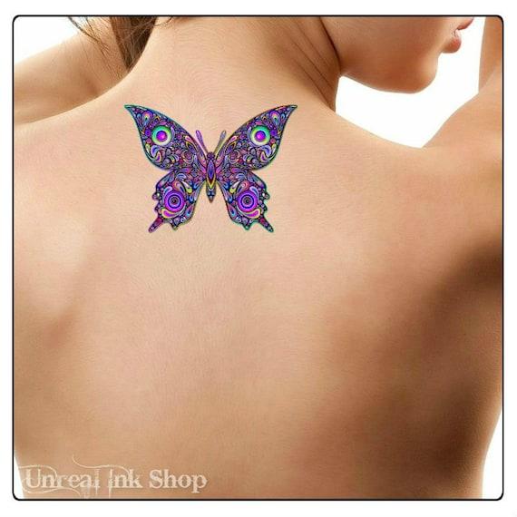 Sterne tattoo schmetterling Tattoo Sterne