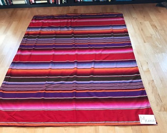 Mexico: Fabric in lap quilt