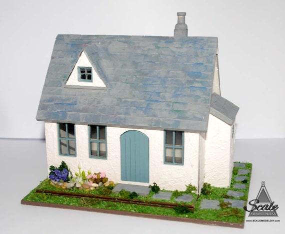 SUIT DOLL OR FAIRY HOUSE DOLLHOUSE MINIATURE TINY CRADLE KIT 1:48 SCALE