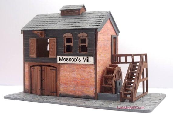 48th Scale Miniature Maison De Poupées Kit-La Maison qui bouge