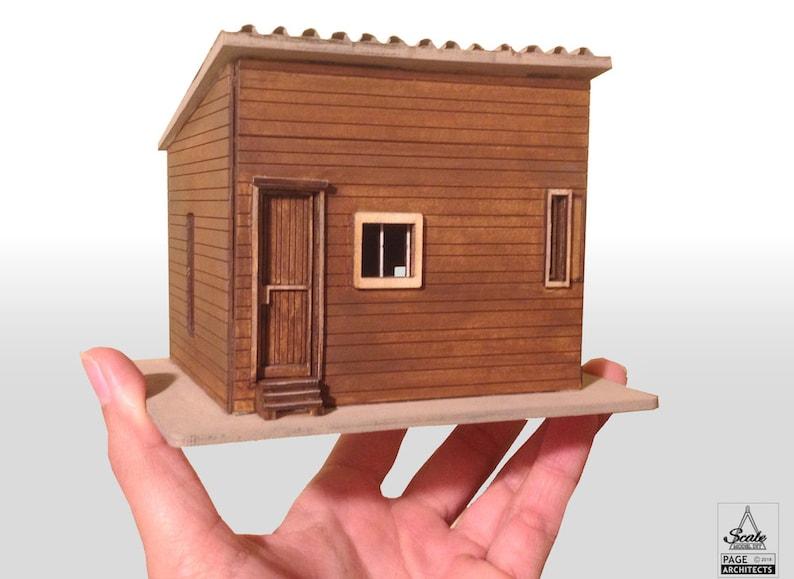 1:50 Laser Cut Kit Model Corbusier Le Cabanon image 0