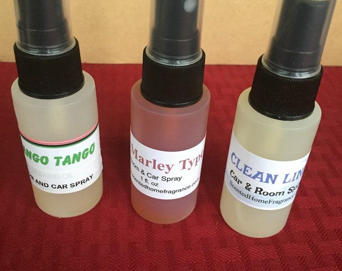 Handmade Air Aroma Freshener Spray, Car Spray, Car Scent, Room Fragrance, Aroma Spray, Incense Spray, Odor Eliminator,