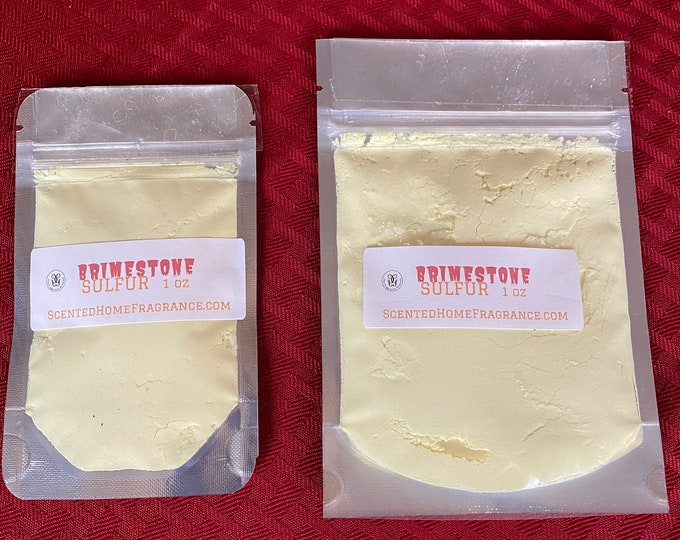NEW Brimstone, Pure Sulfur, Protection, Banishing, Skin Disorders, Uncrossing, Sulphur Soap Making, Scabies Remedy, Hair Ointment,