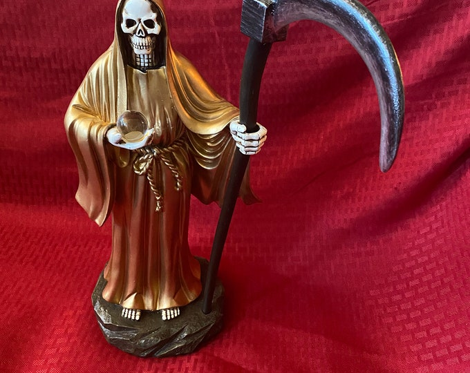 Santa Muerte Statue, Our Lady of the Holy Death, Miracle Worker, Protection,  la Flaquita, Bony Lady, Free Shipping, Good Luck