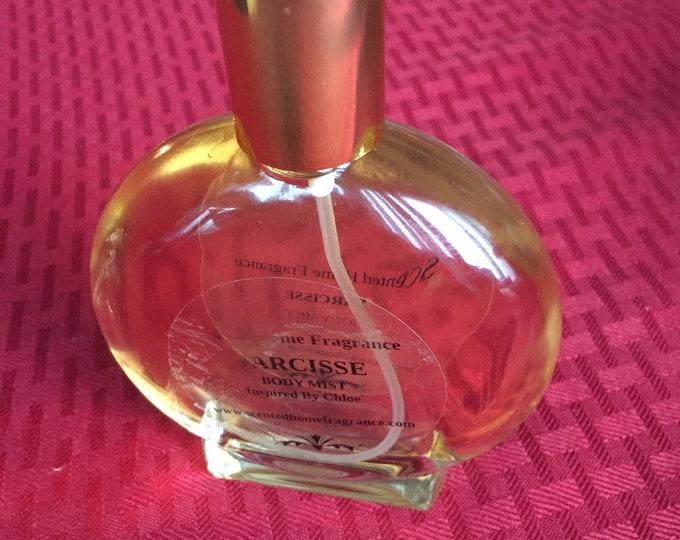 Narcisse Type Perfume Spray, Handmade Designer Impression Narcisse Woman Perfume, Exotic Women Body Perfume Spray, Inspired by Chole