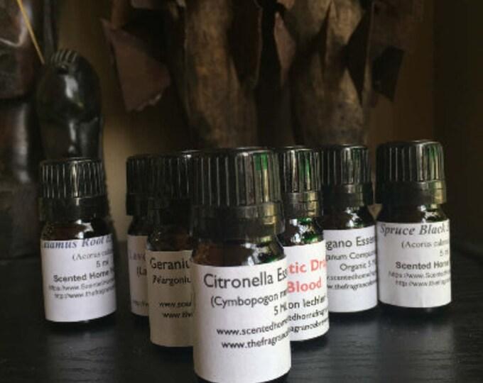 Egyptian Geranium Essential Oil, Pure Geranium Oil, Therapeutic Grade Geranium, Certified Pure,  Pelargonium graveolens, Balance Hormones