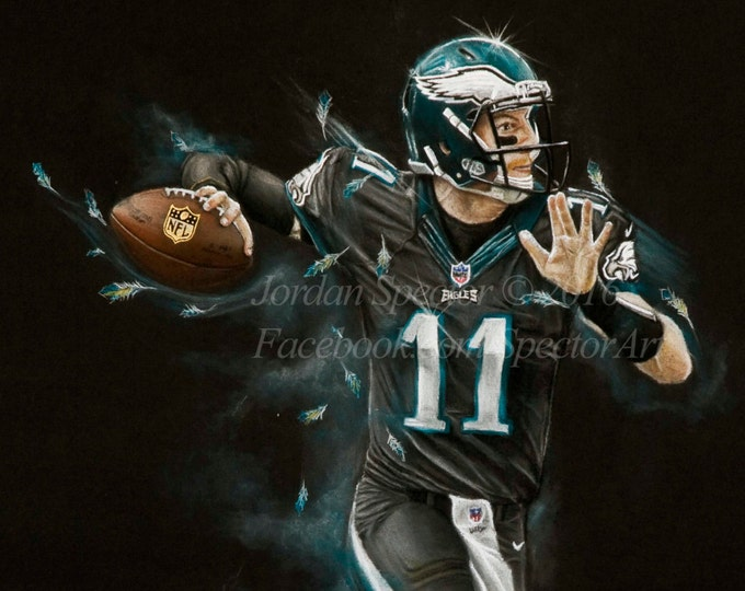 Carson Wentz - Limited Edition Art Print