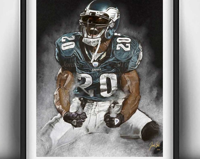 Brian Dawkins - Philadelphia Eagles - Art Print - Weapon X - Man Cave Art - Fly Eagles Fly - Eagles Decor - dorm decor - Gift Idea - philly