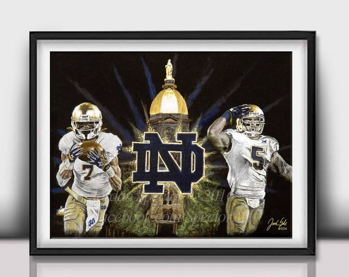 """The Fighting Irish"" Art Print - 20x24 inches limited edition"