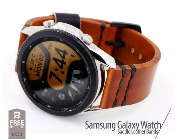 Samsung Leather Band Leather Samsung Gear Classic band Samsung Gear S3 Sport Strap Samsung Gear S3 Frontier Band