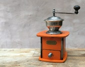 Peter Dienes (PeDe) Solida - 1920s vintage German manual conical burr coffee grinder RECONDITIONED AND SERVICED