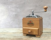 Zassenhaus 190 Zassi mokka - 1950s vintage German manual conical burr coffee grinder コーヒーグラインダー RECONDITIONED AND SERVICED