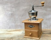 KyM 32-2 - 1950s-60s German manual coffee grinder コーヒーグラインダー RECONDITIONED AND SERVICED