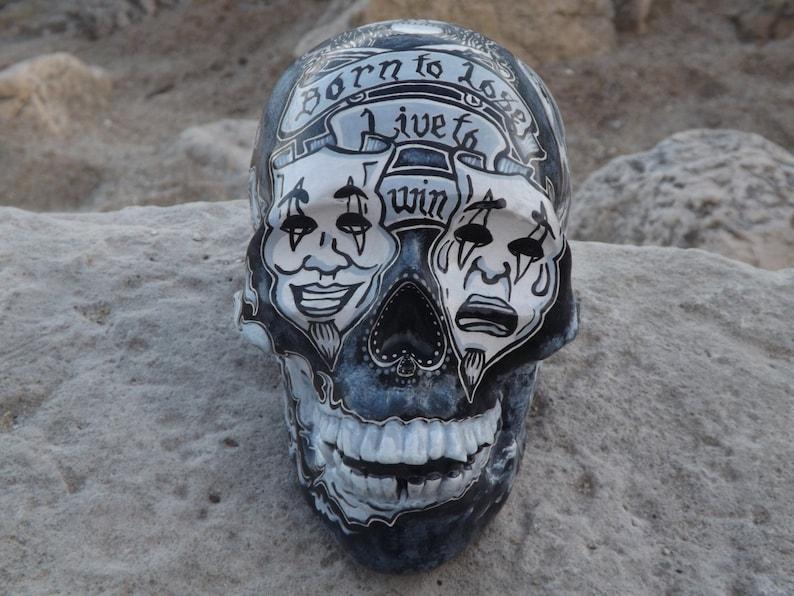 f16e006413762 Unique Handmade Handpainted Motorhead Lemmy Kilmister Tattoo | Etsy