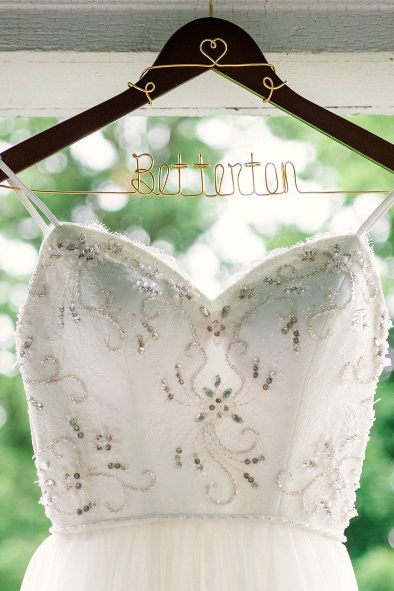 Mrs Hanger Bridal Hanger Personalized Hanger Gifts for Her Wedding Hanger Bride Hanger Wedding Dress Hanger Gift Bridesmaid Hanger