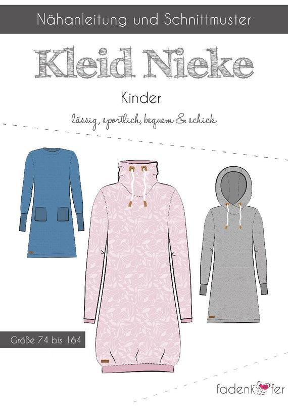 10,90 EURStück Schnittmuster Fadenkäfer Kleid Nike Kinder