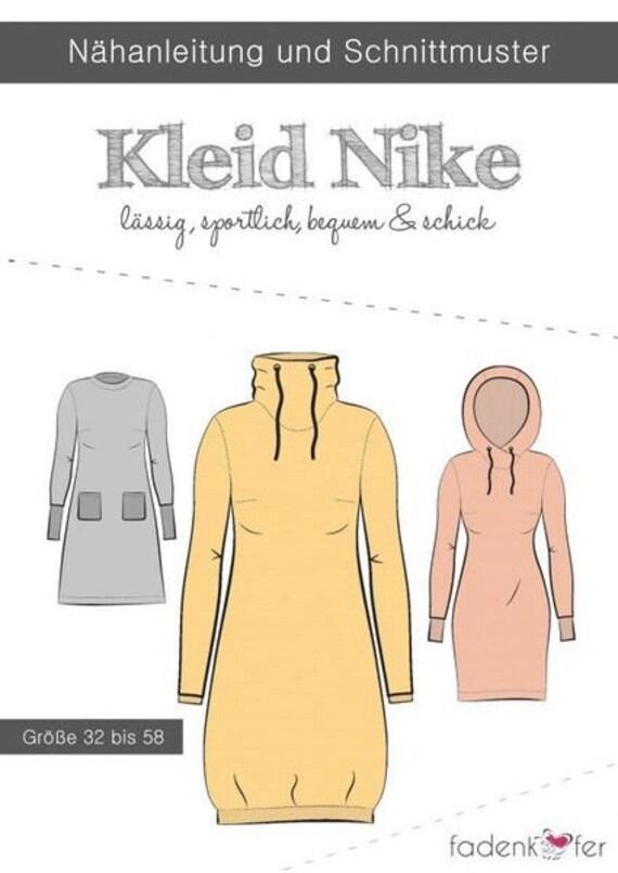 Schnittmuster Fadenkäfer Kleid Nike Erwachsene | Etsy