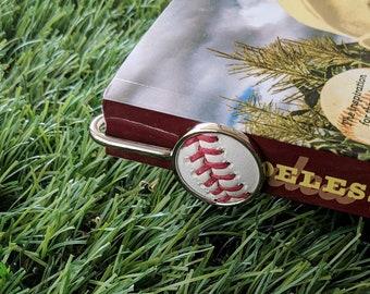 Baseball Bookmark/Letter Opener- Silver Plated