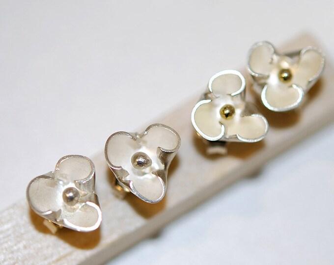 Silver earrings 925, Silver Inès earrings