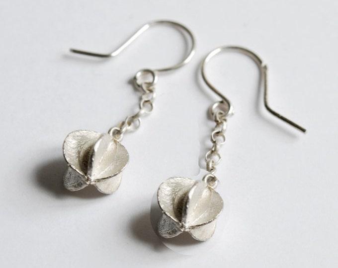 Seed earrings in 925 sterling silver