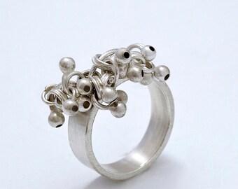 Massive silver ring