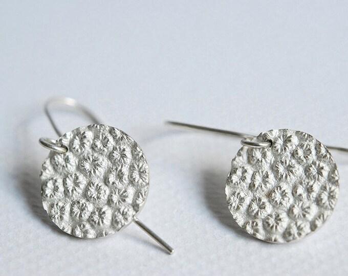 Silver earrings 925, dangling earrings