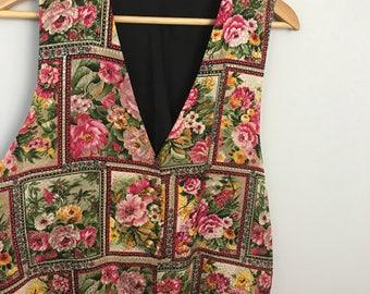 Gorgeous Floral Vest