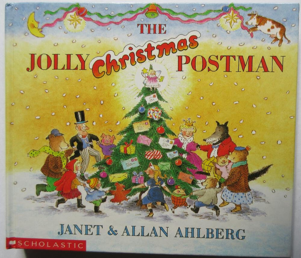 The Jolly Christmas Postman by Janet & Allan Ahlberg 1991 | Etsy