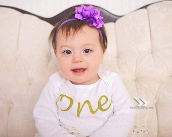 ONE Custom | Girls First Birthday