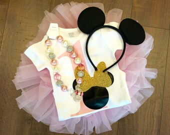 Minnie Mouse First Birthay | Girls Minnie Mouse | Disney |