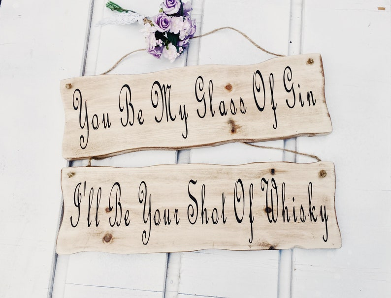 Personalised Wedding Signs Wedding Decorations Wooden Signs Etsy