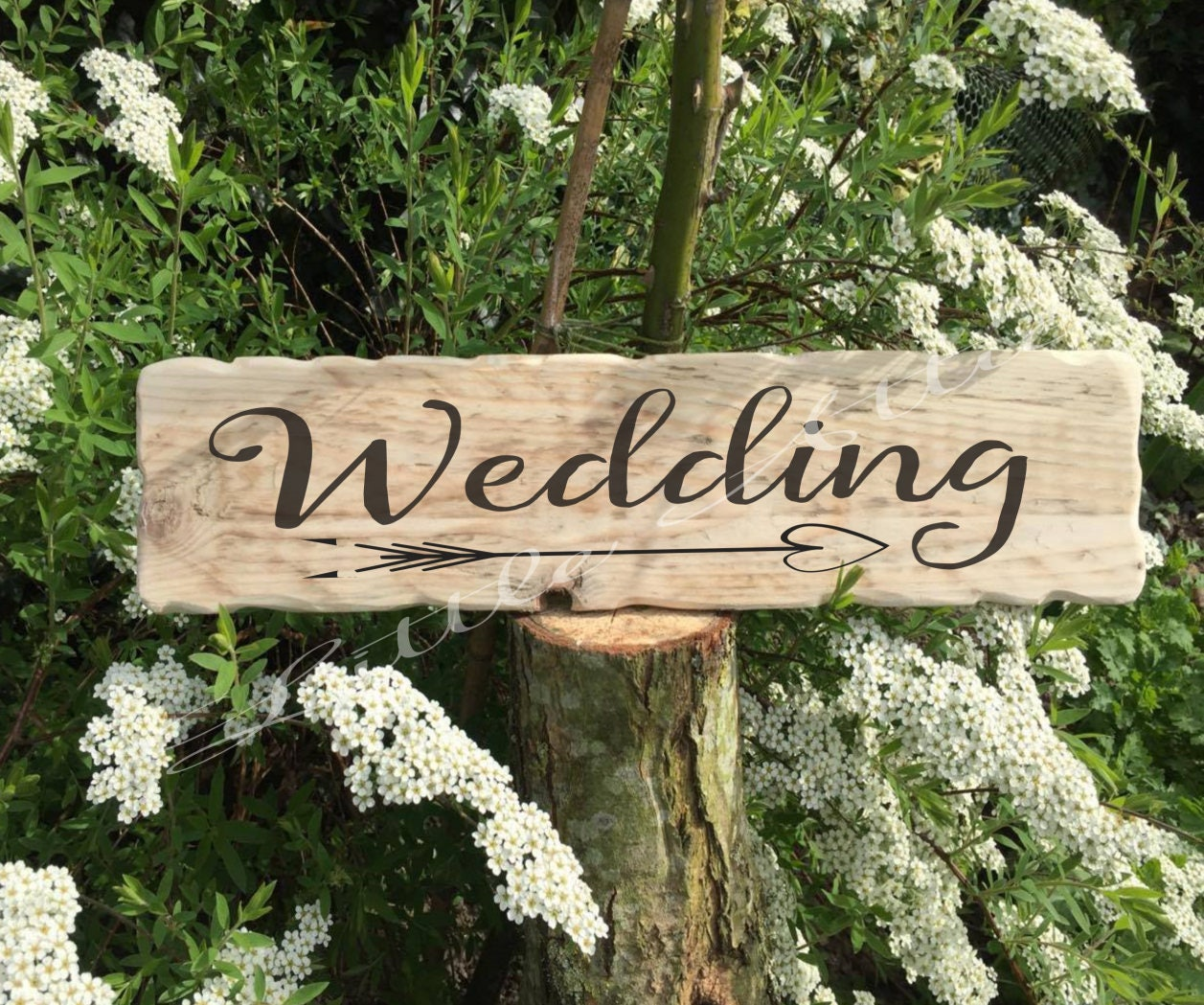 Rustic Wedding Signs. Wooden Wedding Signs. Wedding Decor ... - photo#3