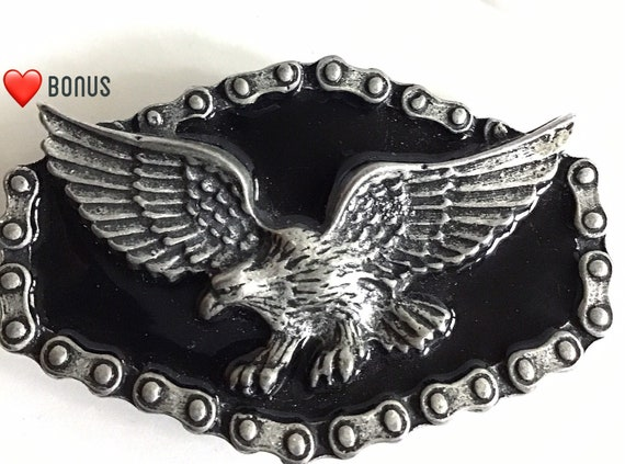 Men's Belt Buckle, For Him, Eagle Belt Buckle, Vin