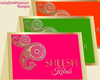 Bollywood card   Etsy