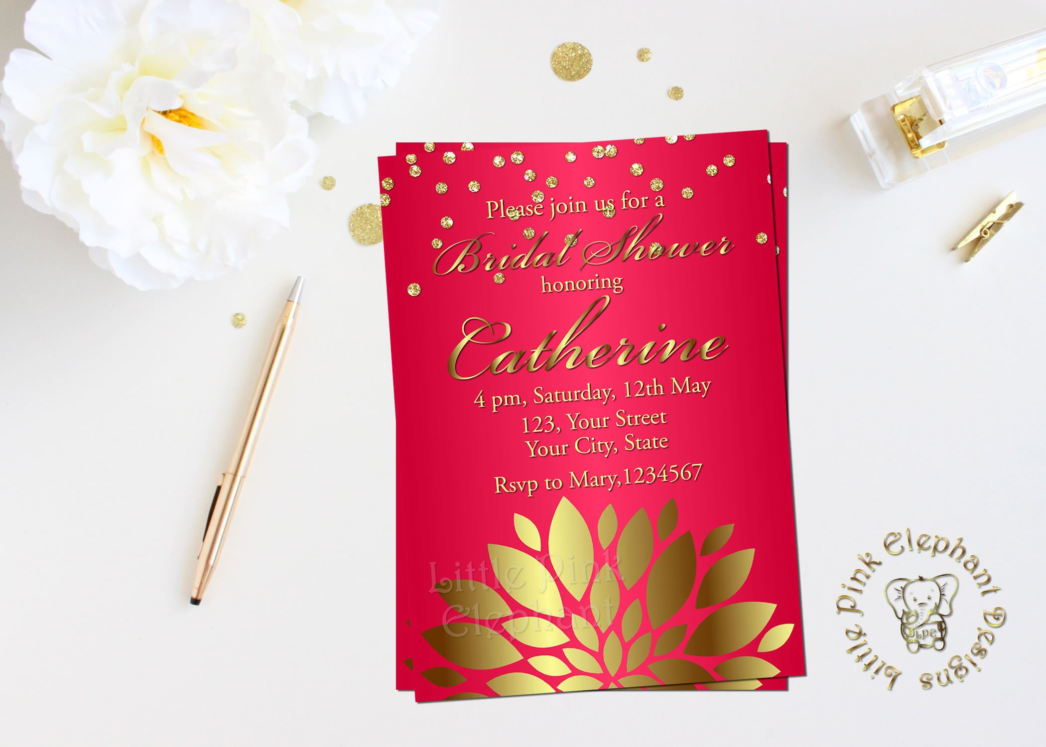 Bollywood invitation-indian invitation indian wedding card | Etsy