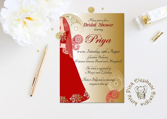 Sangeet Invitation Mehndi Invitations Indian Invitations Etsy