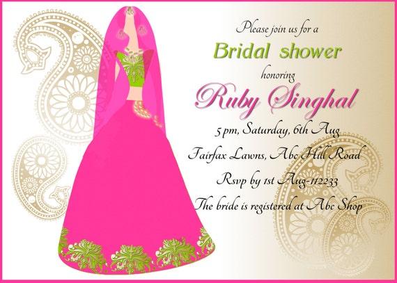 Mehndi Invitation Sangeet Invitation Mehendi Invitation Etsy