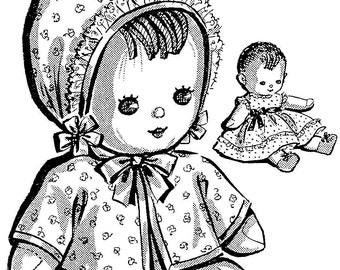 pdf doll purse doll shoes doll dress vintage sewing etsy Chubby Baby Dolls pdf doll pattern vintage doll sock doll soft doll rag doll pattern doll clothes digital download baby doll 1940s doll pattern