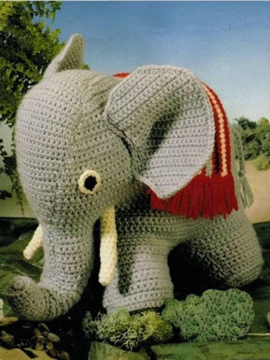 Crochet Stuffed Elephant Pattern Custom Design Inspiration
