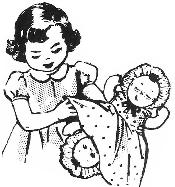 cloth doll pattern topsy turvy doll doll clothes pattern etsy 1970 Baby Beans Doll image