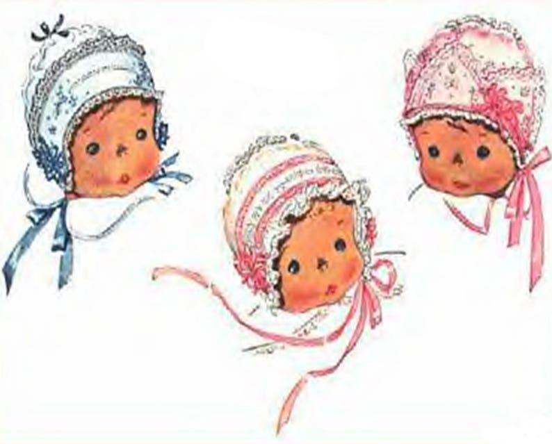 567e54cc2 Christening Bonnet, Pattern, Baby Bonnets, Vintage Pattern, Sewing Pattern,  Infant Baby Bonnets, PDF Digital Download, 1930s Baby Bonnet