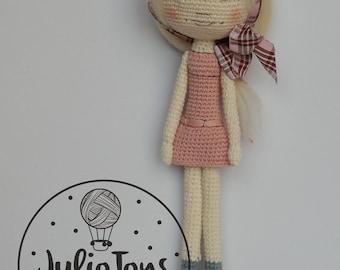 Masha - crochet doll - PDF pattern